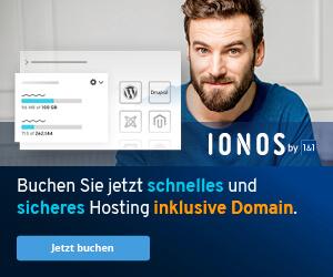 hosting ionos 1und1 buchen