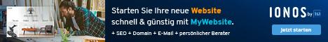 My Website bei 1und1