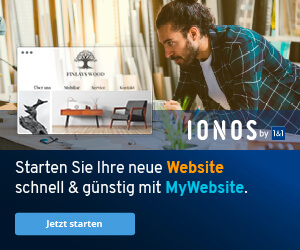 mywebsite ionos 1und1 webbaukasten buchen